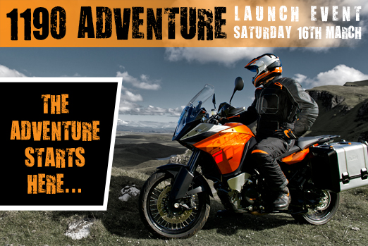 1190 Adventure Launch Banner