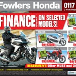 Bristol Post Honda 14 May 2013