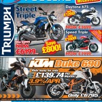 Bristol Post KTM Triumph 14 May 2013