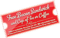 Free Bacon Voucher