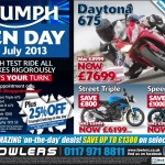 Triumph Open Day