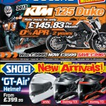 Bristol Post KTM Duke Shoei 9th July 2013