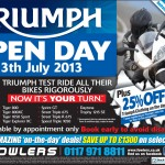 Bristol Post Triumph Open Day 9th July 2013