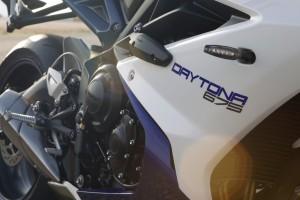 2013 Triumph Daytona White