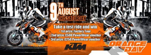 KTM Orange Day! - Sat 9th August!