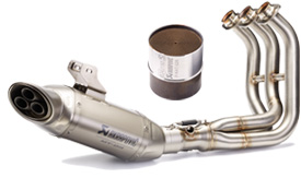 Akrapovic Exhast & Catalytic Converter