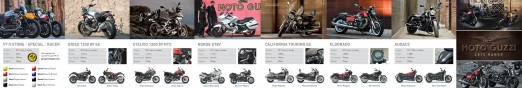Moto Guzzi - Available Models