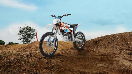 KTM Freeride Electric MX bike