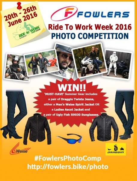 Fowlers Ride To Work Week 2016 Photo Competition