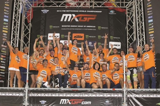 Jeffrey Herlings Team Podium