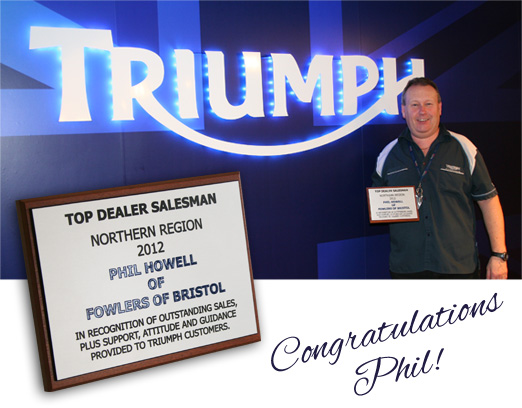 Top Dealer Salesman Award