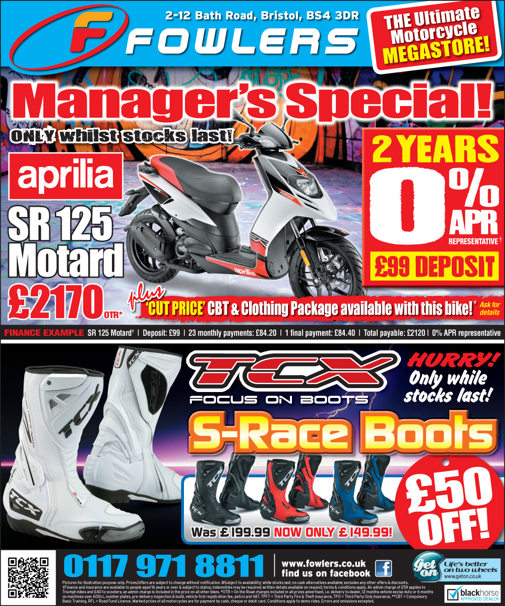 Bristol Post Aprilia 26th March 2013