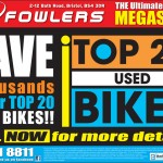 Bristol Post - Top 20 Used Bikes - 4th August 2012