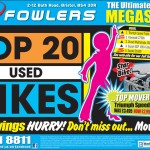 Bristol Post - Top 20 Used Bikes 18th September 2012