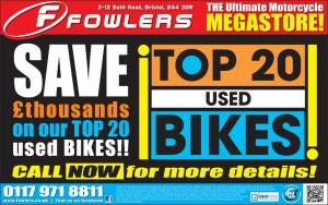 BEP Top 20 Used Bikes 21 Aug 2012