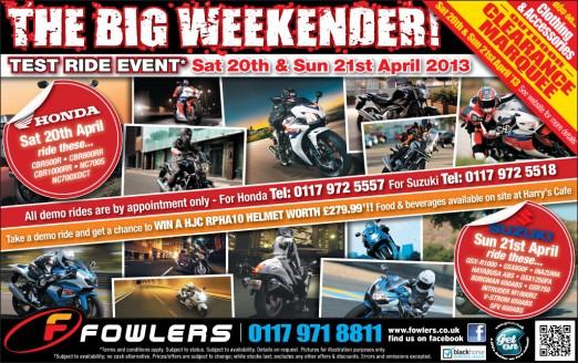 Bristol Post Big Weekender