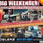 Bristol Post Big Weekender 9th April 2013