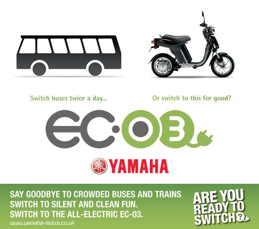 Yamaha EC03 - Switch. Change is good.