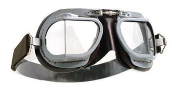 Picture of HALCYON GOGGLE MK9 SUPER JET GREY/BROWN
