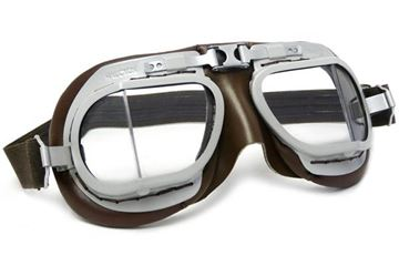 Picture of HALCYON GOGGLE MK8 SERVICE GREY/BROWN