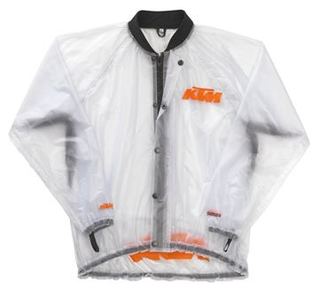 Picture of KTM RAIN JACKET TRANSPARENT