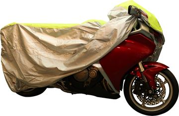 Picture of GEAR GREMLIN MOTORCYCLE COVER CLASSIC NEON MEDIUM