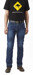 Picture of DRAGGIN HOLESHOT JEANS RRP £259.99 Now £134.99