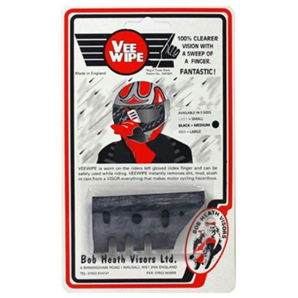 Picture of BOB HEATH VEE WIPE BLACK MEDIUM