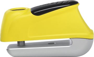 Picture of ABUS TRIGGER ALARM 350 YELLOW DISC LOCK 559730