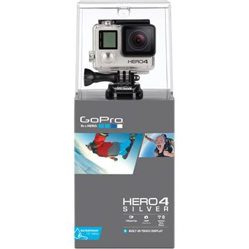 Picture of GO-PRO CAMERA HERO4 SILVER