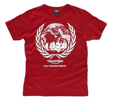 Picture of TRIUMPH TRI TRIDENT T-SHIRT