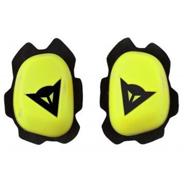 Picture of DAINESE KNEE SLIDERS BLACK/YELLOW