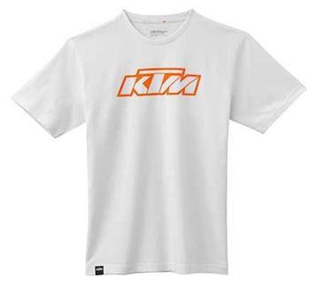 Picture of KTM SX LOGO WHITE TEE