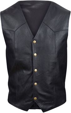 Picture of BUFFALO CLASSIC LEATHER WAISTCOAT