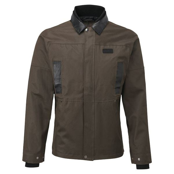Picture of KNOX MENS LEONARD BROWN WAX JACKET