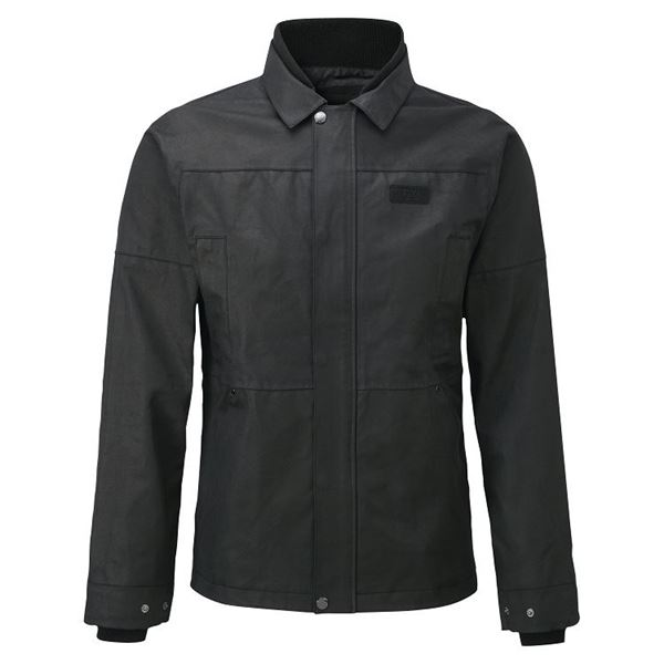 Picture of KNOX MENS LEONARD BLACK WAX JACKET
