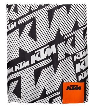 Picture of KTM SHOWER CURTAIN