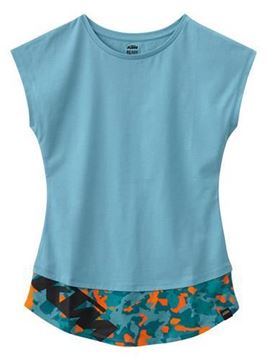 Picture of KTM GIRLS CAMOU TEE