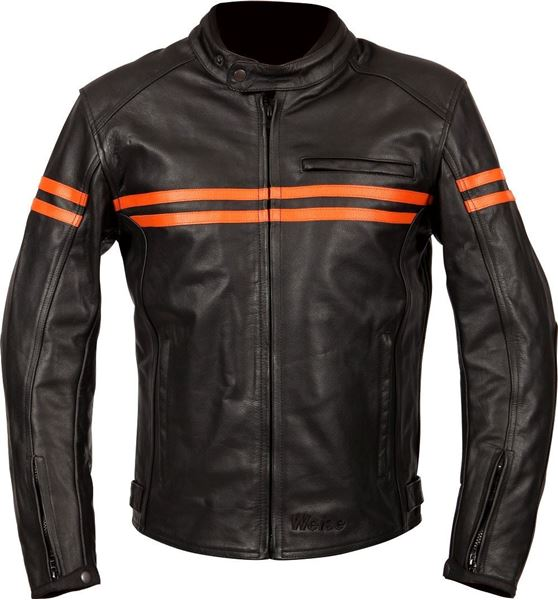 Picture of WEISE BRUNEL LEATHER JACKET RRP £250.00 NOW £159.98