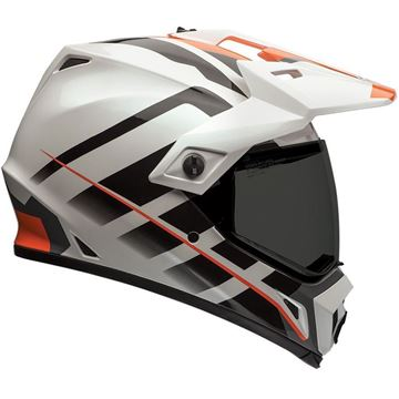 Picture of MX-9 ADVENTURE RAID ORANGE/WHITE
