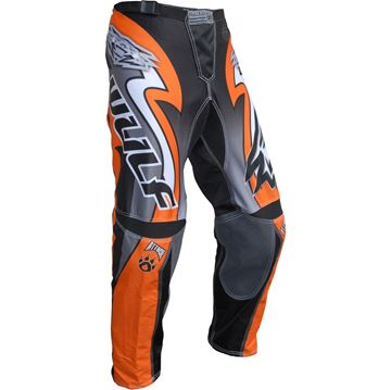 Picture of WULFSPORT CUB ATTACK RACE PANT ORANGE