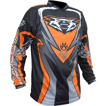 Picture of WULFSPORT CUB ATTACK RACE SHIRT ORANGE