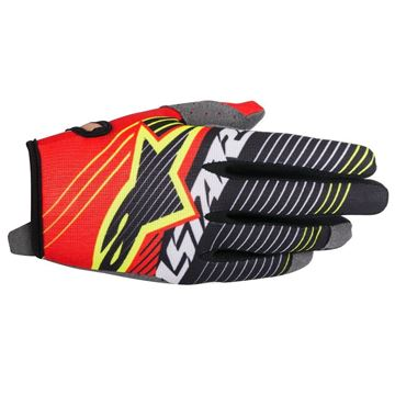 Picture of ALPINESTARS RADAR TRACKER GLOVE RD/WT/BLK