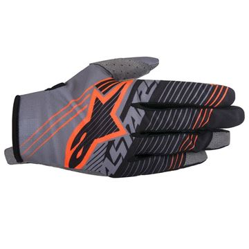 Picture of ALPINESTARS RADAR TRACKER 17 GLOVE GY/BK/ORG
