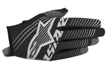 Picture of ALPINESTARS RADAR TRACKER 17 GLOVE BLK/WHT
