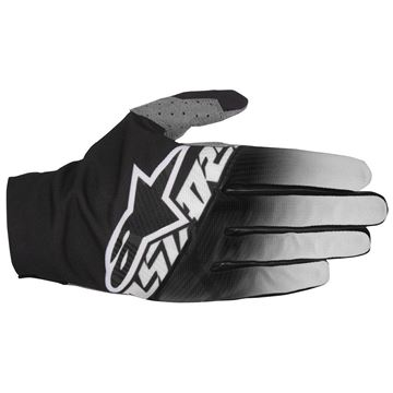 Picture of ALPINESTARS DUNE 17 GLOVES BLK/LT GRY/WHT