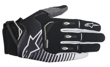 Picture of ALPINESTARS TECHSTAR 17 GLOVES BLK/WHT