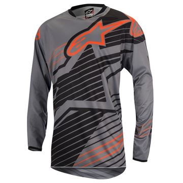 Picture of ALPINESTARS BRAAP 17 JERSEY GRY/BLK/ORG