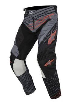 Picture of ALPINESTARS BRAAP 17 PANT GRY/BK/ORG