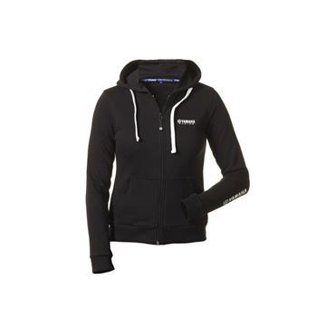 Picture of YAMAHA LADIES PADDOCK BLUE HOODY